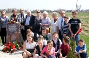 Spotkanie historii z przyszłością pod pomnikiem w Tarnogórze