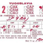 Karty QSL z różnych miejsc na świecie. Każdy krótkofalowiec po zakończeniu łączności, wysyła taką kartę swemu rozmówcy