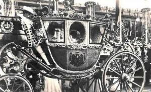 Kareta ślubna cesarskiej pary