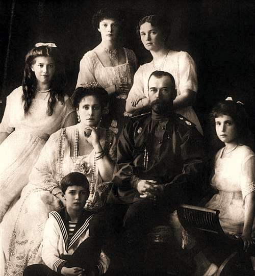Carska rodzina - bestialsko zamordowana z rozkazu Lenina