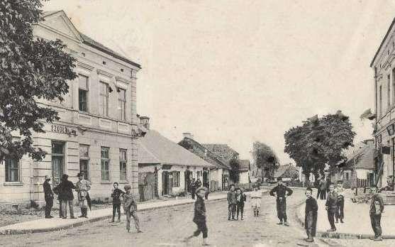 Nisko, około 1912 roku.