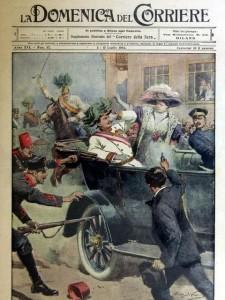 Zamach na arcyksięcia Ferdynanda w Sarajewie