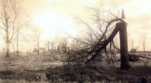 Łętownia po przejściu frontu