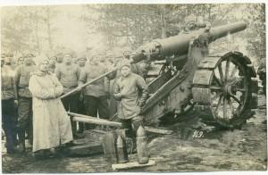 Maj 1915 - rosyjska załoga armaty